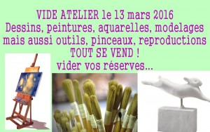 Reservez une table (10€) pour ou donnez un objet à l'association, qui le proposera sur son stand..