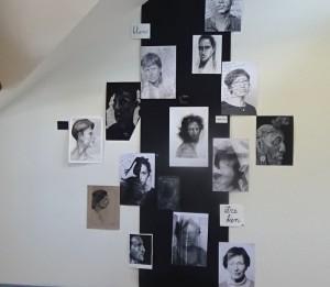 exposition juin 2016 autoportraits