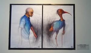 exposition juin 2016 : dessins au stylo à bille